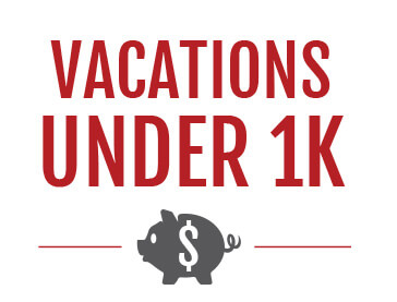 Cosmos Vacations Under $1000
