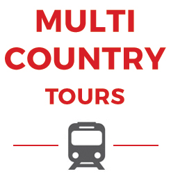 Multi-country panorama tours of multiple European countries