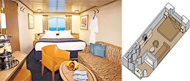 ms Westerdam - Large Ocean-view Staterooms