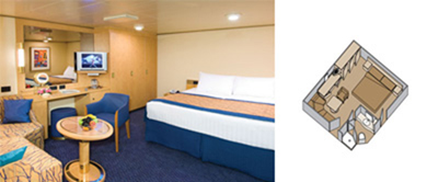 ms Westerdam - Large or Standard Interior Staterooms